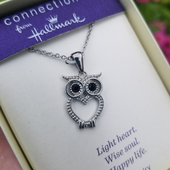 cc39aaf2a20 Hallmark Owl Necklace